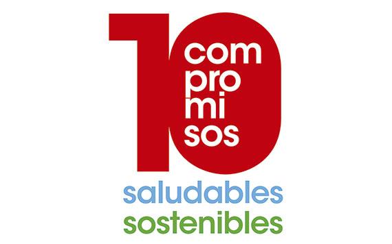 Diez compromisos saludables y sostenibles de Eroski