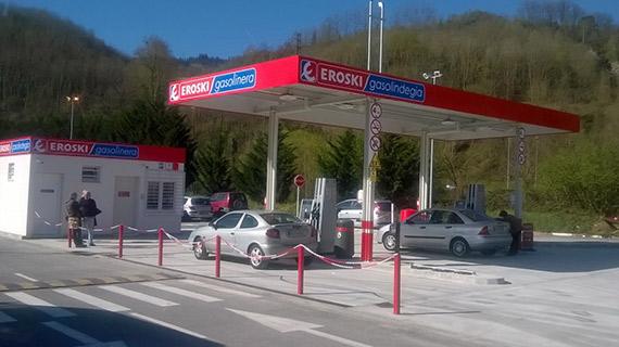Gasolinera Eroski
