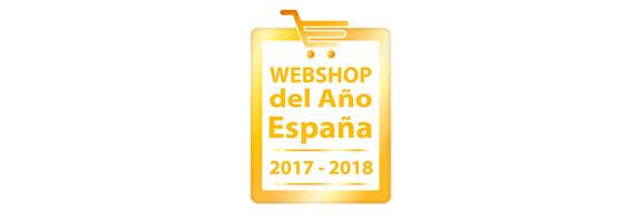 Logo premio Webshop del año