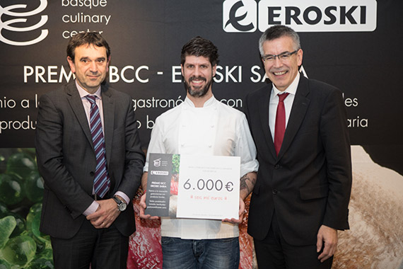 Premio Basque Culinary Center Eroski Saria
