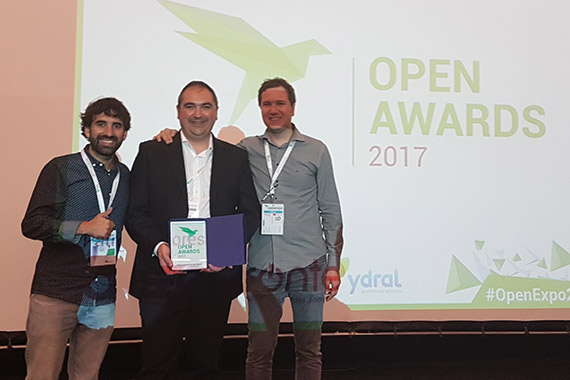 Viajes Eroski y Irontec en Open Awards