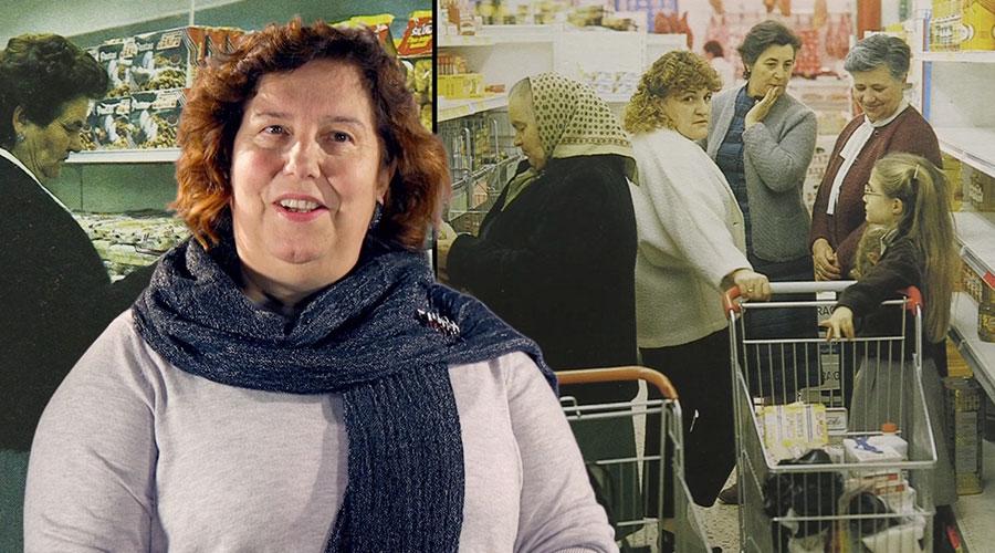 Captura de vídeo de Begoña Lavandeira hablando