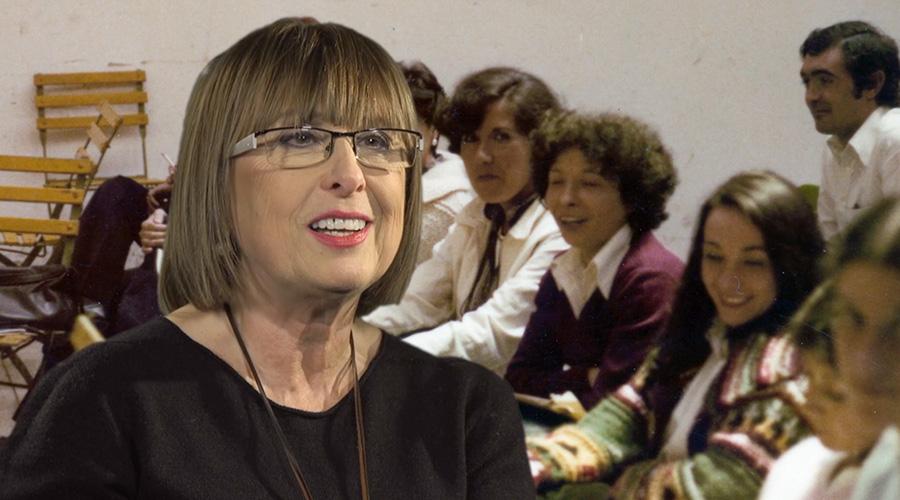 Captura de vídeo de Maite Artetxe hablando