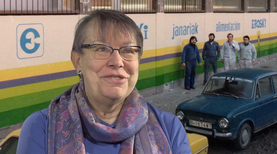 Captura de vídeo de Mari Carmen García hablando