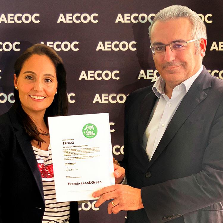 Premio AECOC Lean & Green Eroski