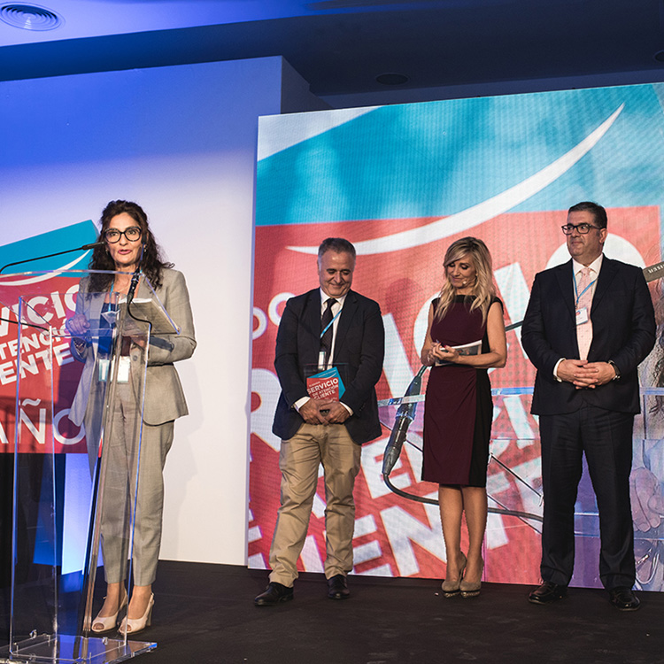 Premio Servicio al cliente del año Eroski